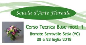 Bornate VC Piemonte Tecnica Base Fioristi I mod @ Scuola d'Arte Floreale | Serravalle Sesia | Piemonte | Italia